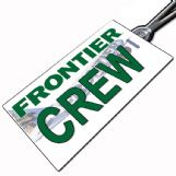 Frontier Airlines Crew Tag